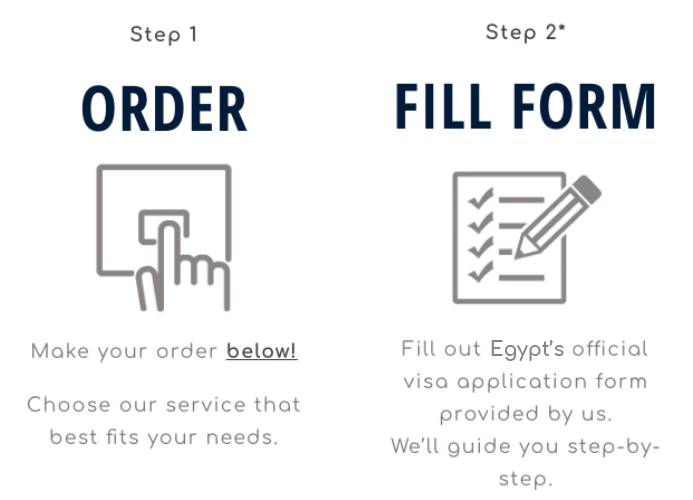 step-1-egypt Business Visa Application Form Egypt on german schengen, b1 b2, enter japan sample, south africa,